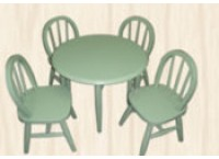 Kid's Dining Suite 2424 - GREEN