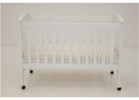 Wooden Cot I WC1006 (WHITE)