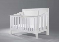 Baby Cot | Elegance Cot (White)